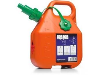 Канистра для бензина 6л оранжевая Husqvarna, 505 69 80-01