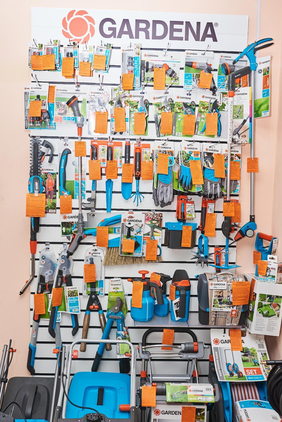 Инструменты Gerdena в магазине Бензоград